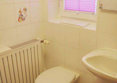Kleines Bad mit Dusche - Wohnung Marleen - Ferienwohnung Thaller Bruckmühl
